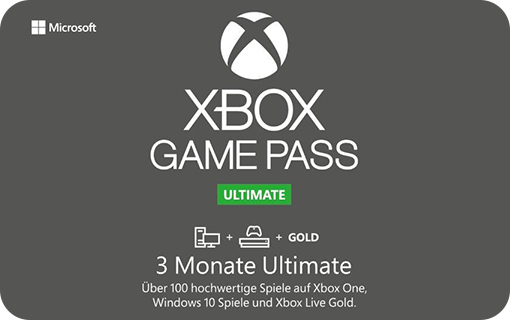 Microsoft Xbox Game Pass Ultimate 3 Monate